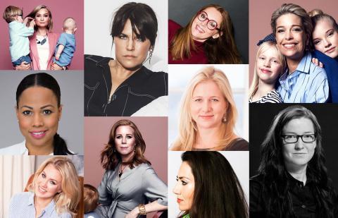 Här är listan på Sveriges mäktigaste mammor 2018