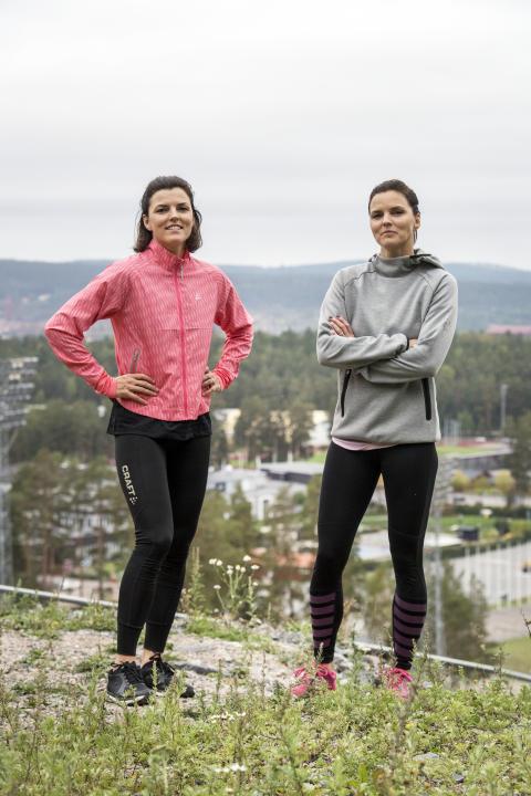 Systrarna Kallur satsar på Tjejvasan i vinter