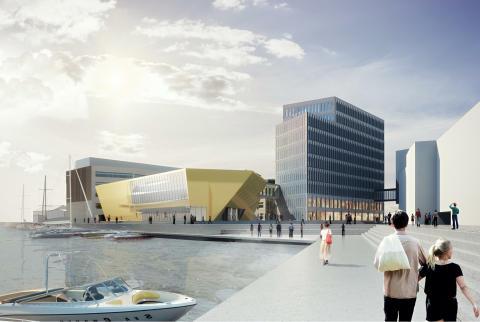 Skanska utvecklar och bygger nya lokaler vid Linnéuniversitetet i Kalmar för 1,5 miljarder kronor