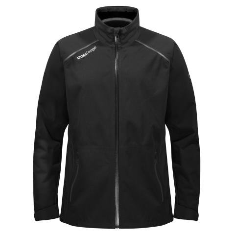 M Edge Jacket Black Front - Cross Sportswear
