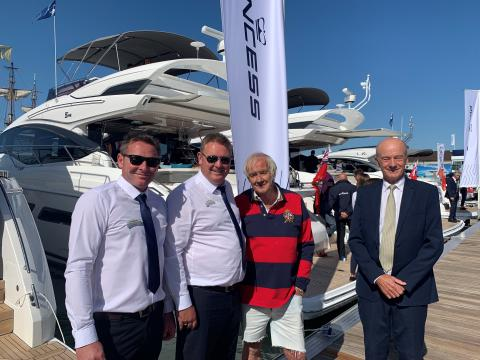 Boats.co.uk founder honoured at Southampton Boat Show