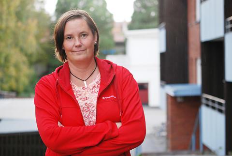 Linda Käck tar plats i Förbundsstyrelsen