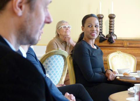 Lyckat besök med kultur- och demokratiministern