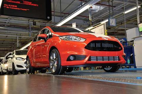Oppstart av produksjonen av nye Fiesta ST