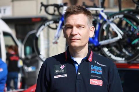 Landslagssjef Stig Kristiansen under Flandern Rundt U23 2017