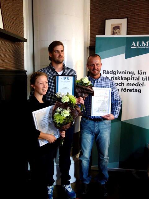 Årets SKAPA-vinnare & Årets Nybyggare Jämtland 2014