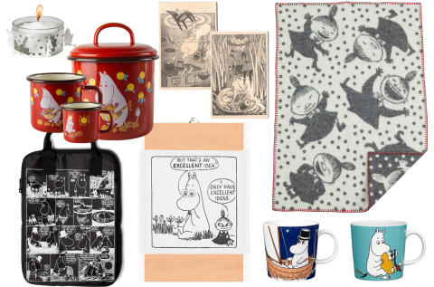 Moomin products at Ambiente Fair in Frankfurt February 10 - 14