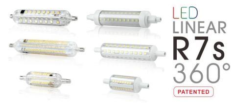 R7S - En innovativ nyhet som konverterar byggbelysning i halogen till LED