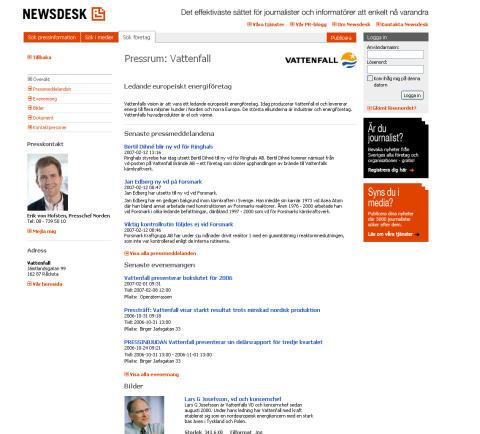 500 pressrum på Newsdesk