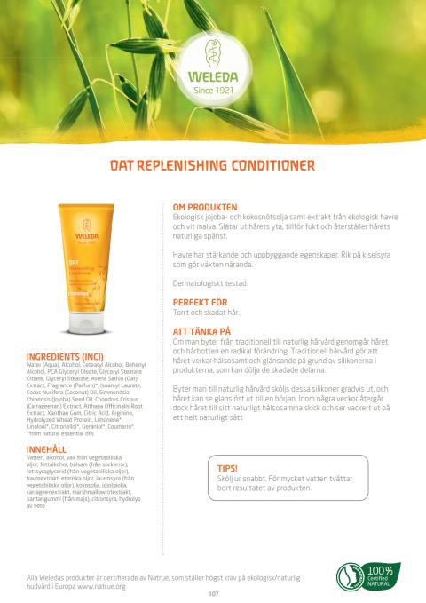 Oat Replenishing Conditioner