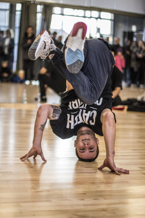 Breakdance ved åbning af GAME Streetmekka Esbjerg