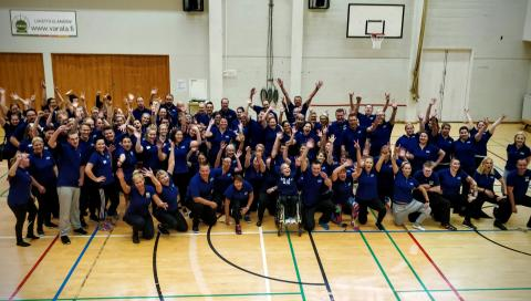JYSK on Paralympiakomitean neljäs pääyhteistyökumppani
