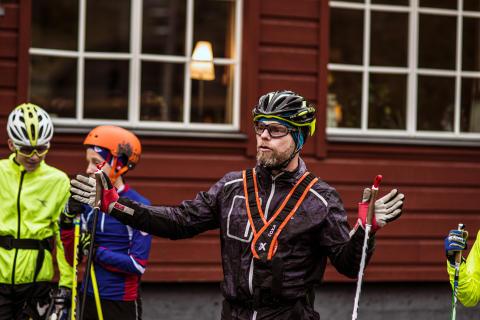 Stort träningsläger för länets längdungdomar i Ramundberget