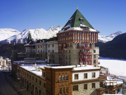 Badrutt's Palace, St Moritz