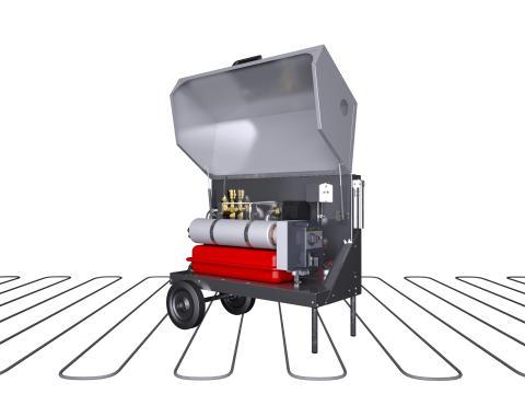 Upgraded portable boiler from LK