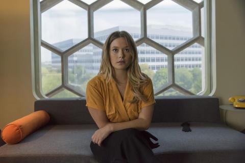 Säsongspremiär för Legion torsdag den 5/4 kl 21.55. Rachel Keller som Syd.