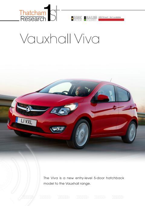 Thatcham 1st : Vauxhall Viva