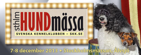 Välkommen till Stockholm Hundmässa!