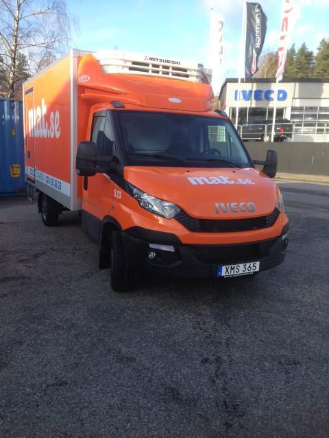 Cold Cargo Sweden AB utökar med 56 nya Iveco Daily