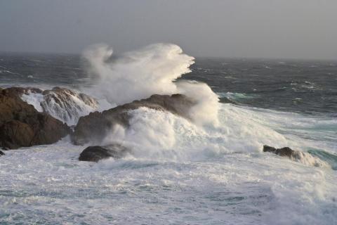 """Stormen """"Urd"""" gav vindkraftrekord i Norden"""