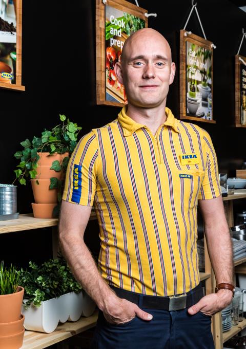 John Kristian Sørensen varehuschef IKEA Aarhus