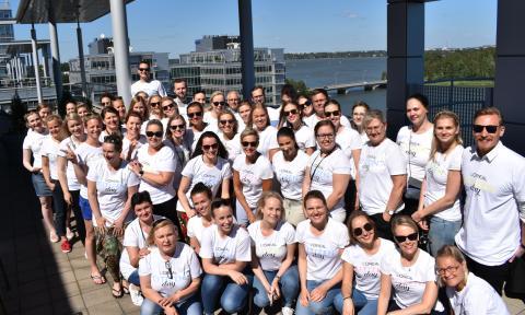 Citizen Day:  L'Oréal Finlandin työntekijät osallistuivat Citizen Day –päivään L'Oréalin kansainvälisenä vapaaehtoistyön päivänä