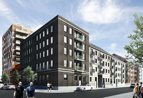 Uppsalahem byggstartar Gjutarängen med 187 hyresrätter