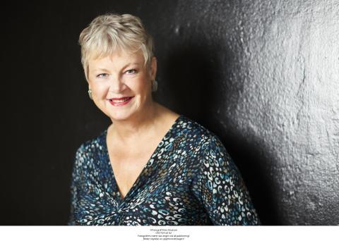Författarporträtt, Maggan Hägglund (foto: Peter Knutson)