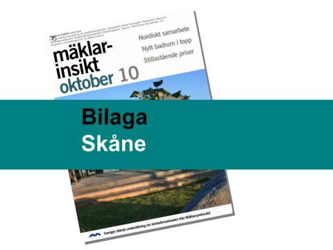 Mäklarsamfundet oktober 2010: Skåne