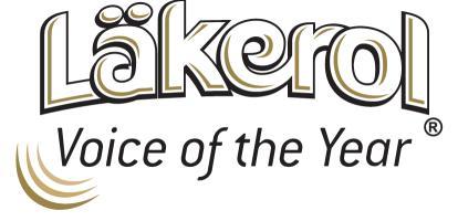 Läkerol Voice of the Year