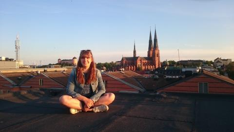 Friluftsälskaren Emma Beskow kommer i sommar göra ett av sina största äventyr