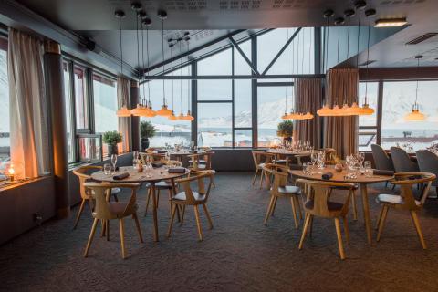 Nyöppning av nyrenoverade Funken Lodge på Svalbard