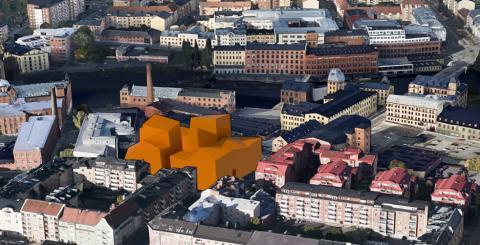 Kvarteret Bommen, bildmontage