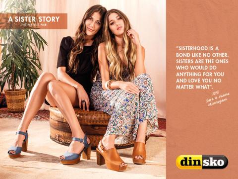 DinSko skriver systerhistoria