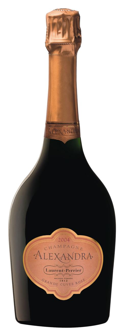 Laurent-Perrier Alexandra Rosé 2004, flaskbild