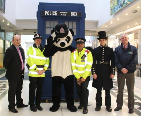 'Cop shop' opens in town