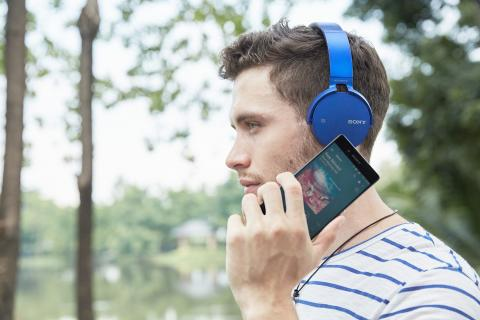 Sony annonce une nouvelle gamme de produits audio EXTRA BASS