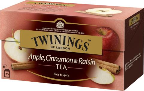 Twinings Apple, Cinnamon & Raisin 25 påsar