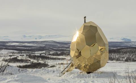 Riksbyggens Solar Egg nominerad till Plåtpriset 2018