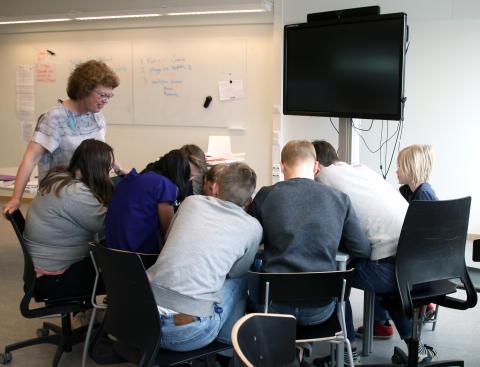 Viktoriaskolans elever i semifinal i matematiktävling