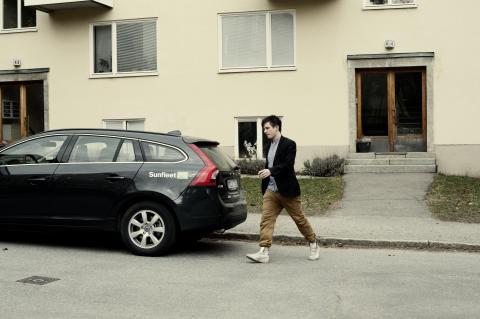 Ny bilpool i Borås