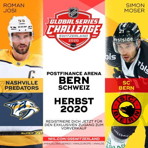 NHL Global Series Bern