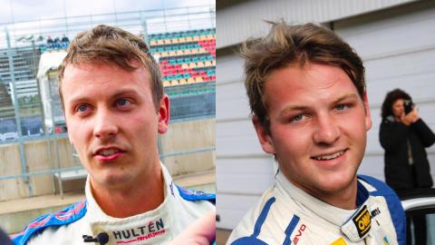 Superduon Lindberg och Wernersson klara för V8 Thunder Cars 2016