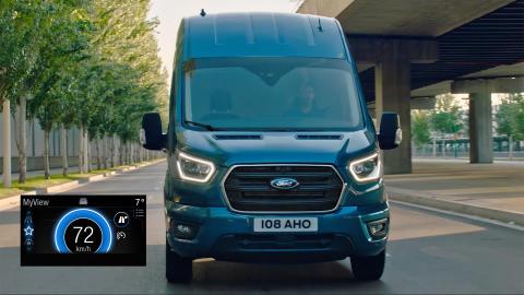 Lanserer unik økokjøringsteknologi på Fords nyttekjøretøy