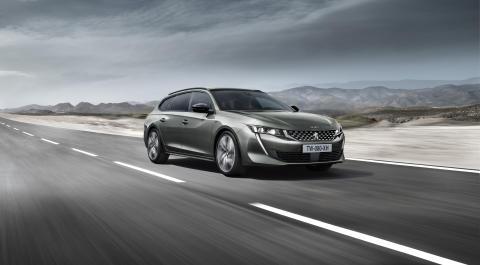 Premiär: Nya Peugeot 508 SW - Breaking the codes
