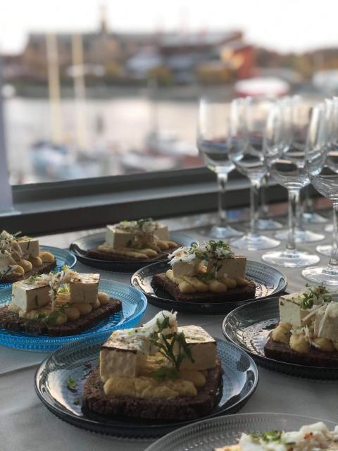 Restaurangen Moderna Museet och lanseringen av WWFs Köttguide  5 november 2019