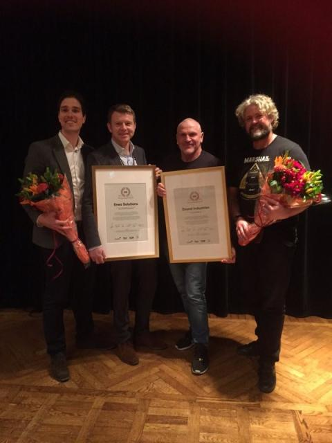 Eneo Solutions utsett till Årets svenska affärsmodellutmanare 2015