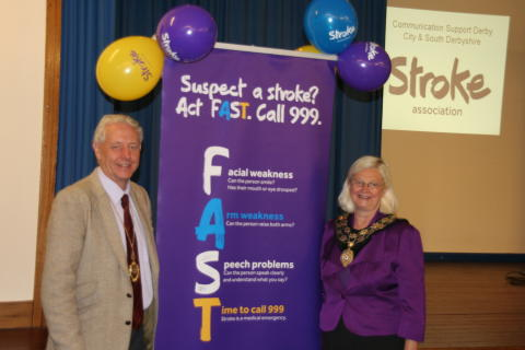 South Derbyshire service celebrates 15 years of helping stroke survivors find their voice