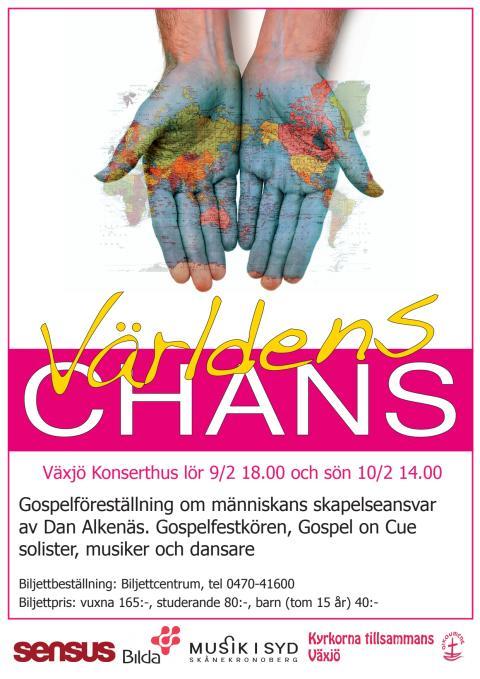 Växjö Gospelfest 2013 - Världens Chans