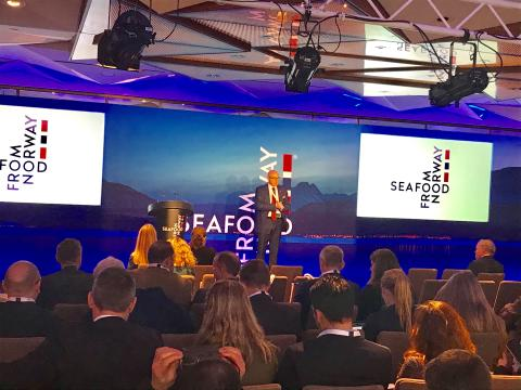 UK-Norwegian Seafood Summit, London 2019